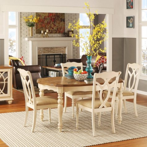 Ballad Dining Table and 4 Chairs Set