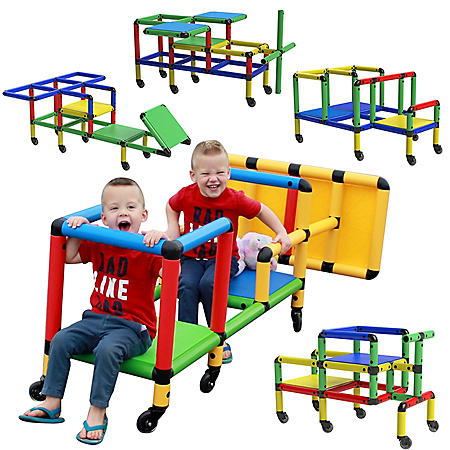 Funphix Create and Play Life Size Structures, Wheelies