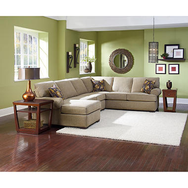 Lane Furniture Joyner 3-Piece Sectional Sofa  sc 1 st  Samu0027s Club : lane sectional sofa - Sectionals, Sofas & Couches