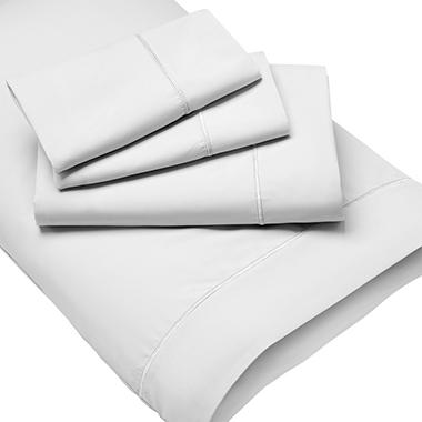 deluxe no-wrinkle silky microfiber sheet set (various sizes