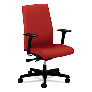 HON Ignition Series Mid-Back Work Chair, Poppy