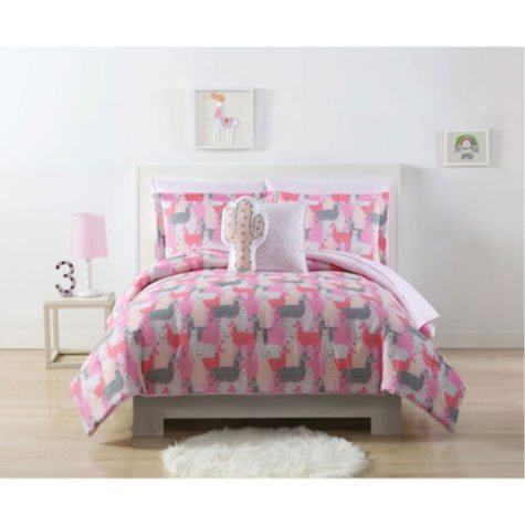 Laura Hart Kids' Llama Bedding Set (Assorted Sizes)