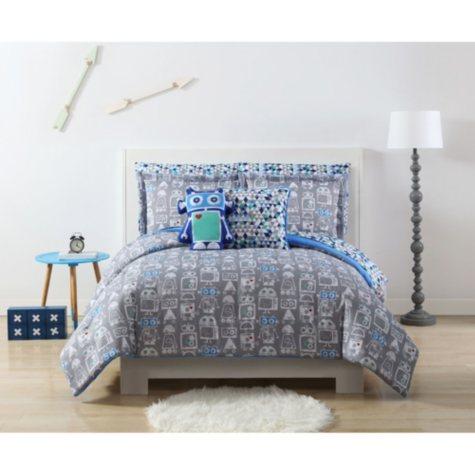 Laura Hart Kids' Robot Bedding Set (Assorted size)