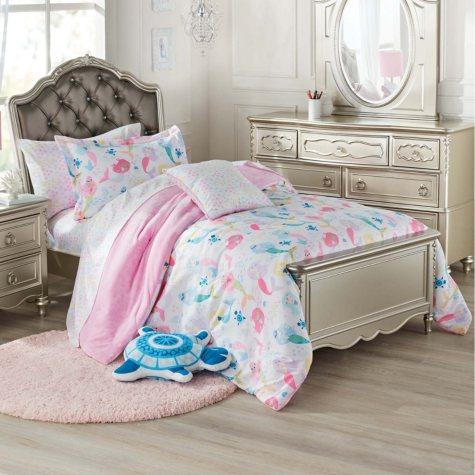 Laura Hart Mermaid Kids' Bedding Set (Assorted Sizes)