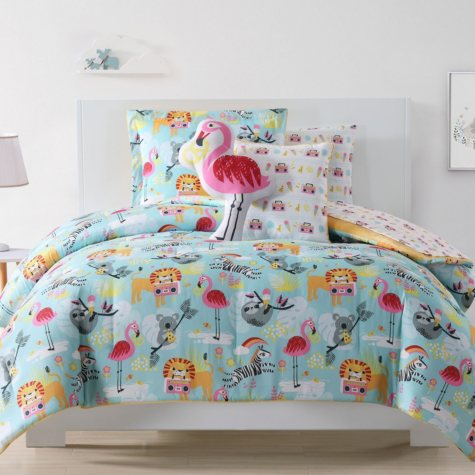 Laura Hart Party Animals Kids' Bedding Set (Assorted Sizes)