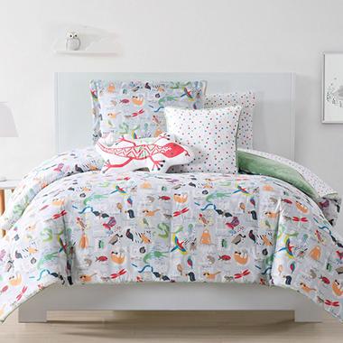 Laura Hart ABC Animal Kidsu0027 Bedding Set (Assorted Sizes)