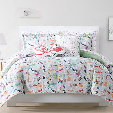 Laura Hart ABC Animal Kidsu0027 Bedding Set (Assorted Sizes)