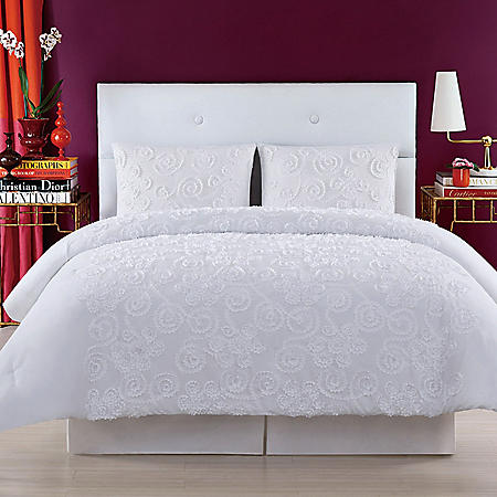 Christian Siriano New York Pretty Petals Comforter Set (Assorted Colors and Sizes)