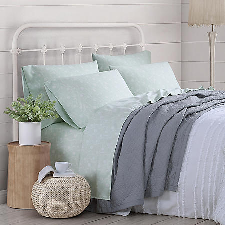 Prairie by Rachel Ashwell 12-Piece Garment Washed Sheet Set (Assorted Colors and Sizes)
