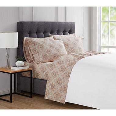 London Fog 4 6 Piece Luxury Sheet Sets Assorted Sizes And Colors