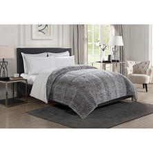 Christian Siriano Luxury Reversible Fur Comforter - King