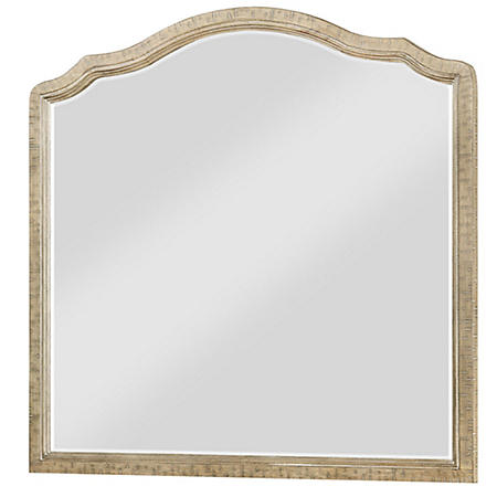 Interlude Mirror, Sandstone Gray