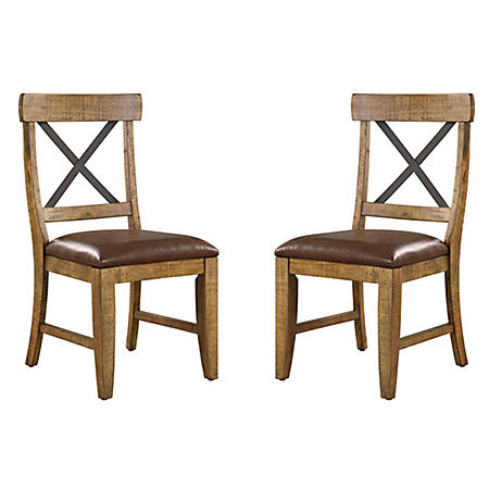 Chandler Dining Chair, Rustic Brown