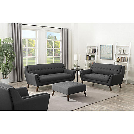Binetti 4-Piece Living Room Set (Assorted Colors)