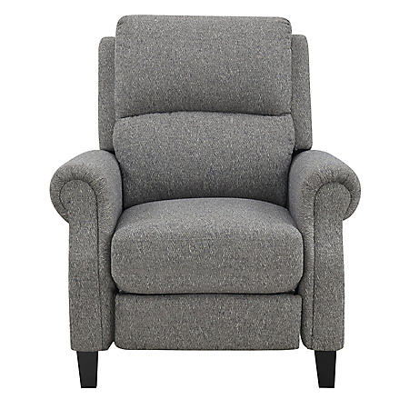 Torrey Press Back Recliner, Slate