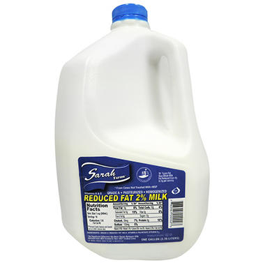 Sarah Farms Reduced Fat 2% Milk (1 gal.)