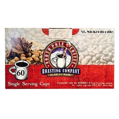 North Pole Coffee St. Nickerdoodle Single-Serve Coffee (60 ct.)