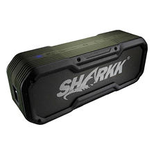 SHARKK Commando Water-Resistant Portable Bluetooth Speaker