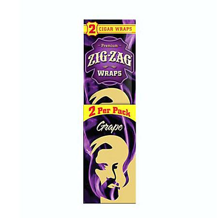 Zig Zag Grape Cigar Wraps (5 ct., 15 pk.)
