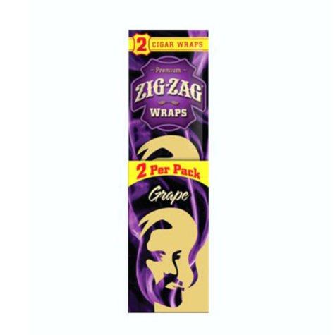 Zig Zag Grape Cigar Wraps (2 pk., 25 ct.)