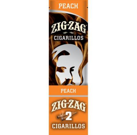 Zig Zag Peach Cigarillos (2 pk., 15 ct.)