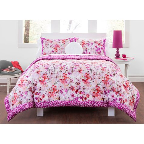 Kyoto Fields Comforter Set, Twin