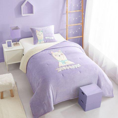 Llama Figural Comforter Set (Assorted Sizes)