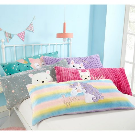 """American Kids Body Pillow  20"""" x 48"""" (Assorted Styles)"""