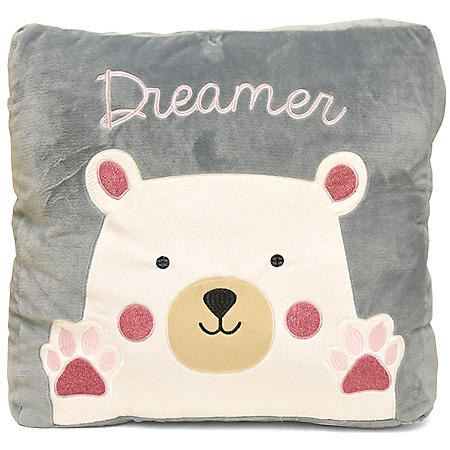 American Kids Sherpa Floor Pillow (Assorted Styles)