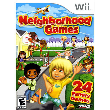Neighborhood Games - Wii