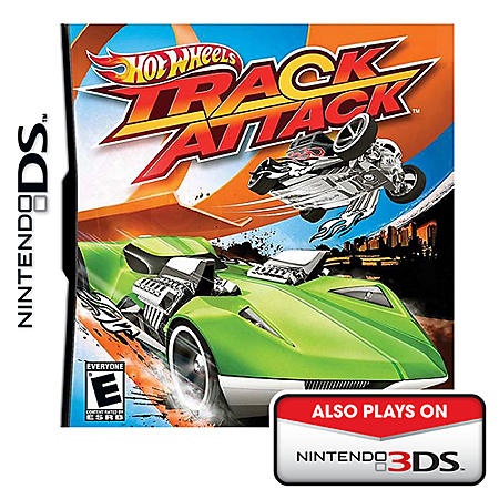 HOT WHEELS TRK ATK NDS VIDEO GAME