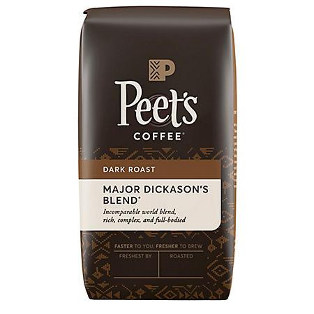 Peet's Coffee Major Dickason's Blend Deep Roast, Whole Bean (32 oz.)