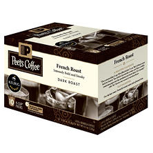 Peet's Coffee French Roast, Dark Roast (60 K-Cups)