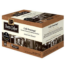 Peet's Coffee Cafe Domingo, Medium Roast (60 K-Cups)