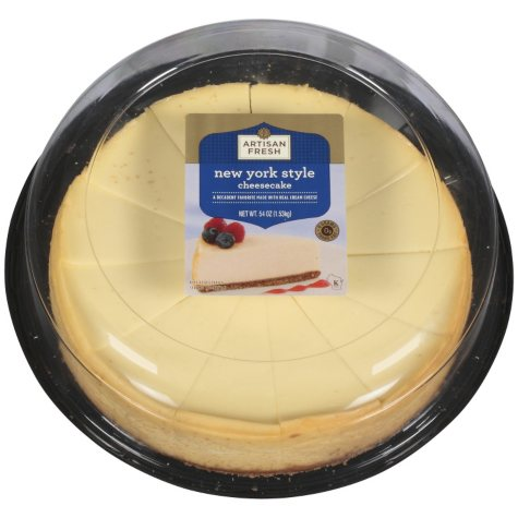 Artisan Fresh New York Style Cheesecake - 54 oz.