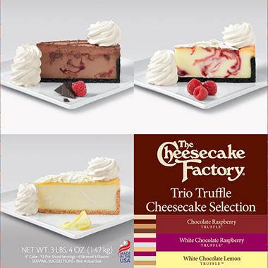 The Cheesecake Factory Trio Truffle Cheesecake Selection (52 oz.)
