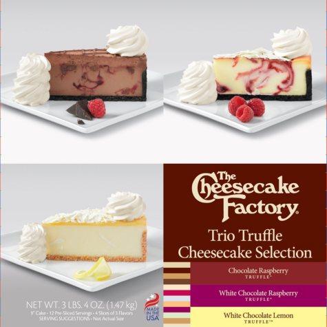 The Cheesecake Factory Trio Truffle Cheesecake Selection (52 oz.)