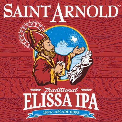 Saint Arnold Elissa IPA (12 fl. oz. bottle, 6 pk.)