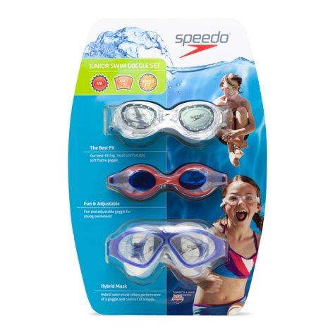 Speedo Junior Goggle 3pack