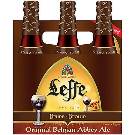 LEFFE BLONDE 6 / 11.2 OZ BOTTLES
