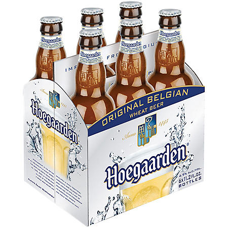 Hoegaarden Original Belgian White Beer (11.2 fl. oz. bottle, 6 pk.)
