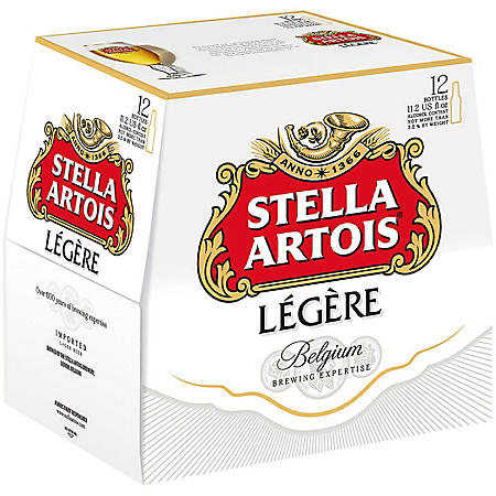 Stella Artois Legere (11.2 fl. oz. bottle, 12 pk.)