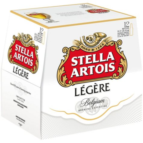Stella Artois Legere (11.2 fl. oz. bottle, 12 pk.)