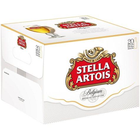 Stella Artois (9.6 fl. oz. bottle, 20 pk.)