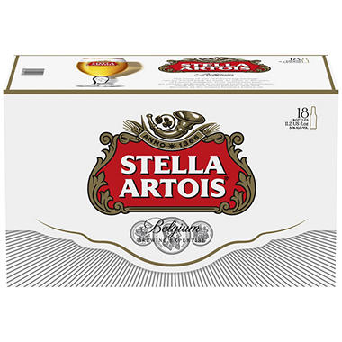 Stella Artois (11.2 fl. oz. bottle, 18 pk.)