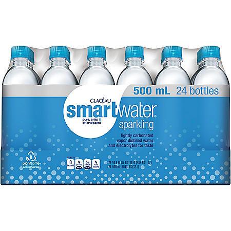 Glaceau Sparkling Smartwater (16.9 oz., 24 pk.)