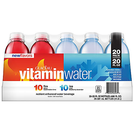 Glaceau Vitaminwater Fire and Ice (20 fl. oz., 20 pk.)