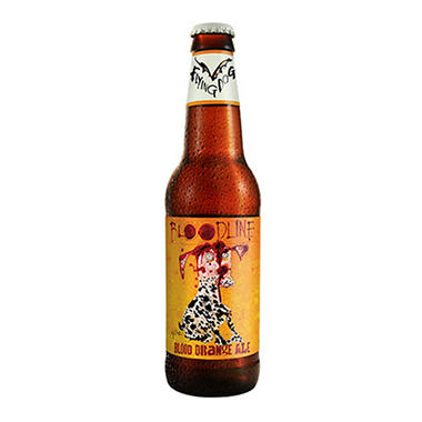 Flying Dog Bloodilne Blood Orange Ale (12 fl. oz. bottle, 6 pk.)