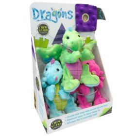 TrustyPup Dog Toys, Dragons (Choose Your Size)