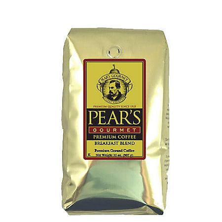 Pear's Gourmet Ground Coffee, Breakfast Blend (2 lb.)